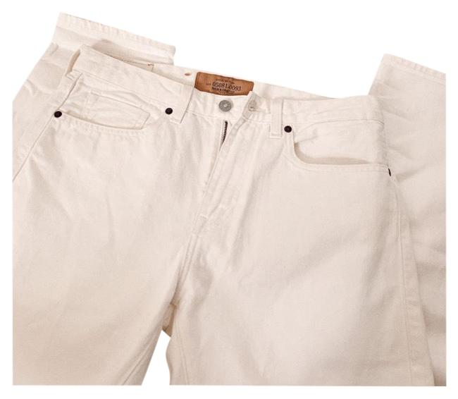 Item - Cream Light Wash Made & Crafted High Waisted Boot Cut Jeans Size 10 (M, 31)