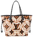 Louis Vuitton Crafty Neverfull Mm Tote in Orange