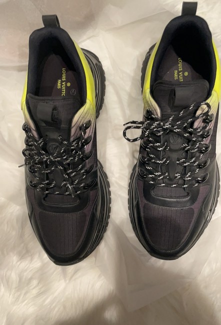 Item - Black with Ombré Neon Green Go 0178 Sneakers Size US 8 Regular (M, B)