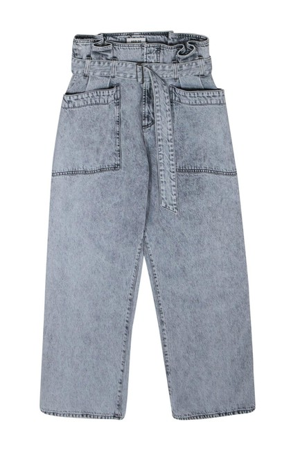Item - Blue Straight Leg Jeans Size OS (one size)