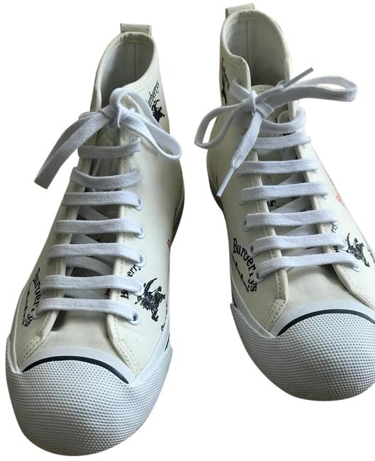 Item - Off White Kingly High Top Sneakers Size EU 38.5 (Approx. US 8.5) Regular (M, B)