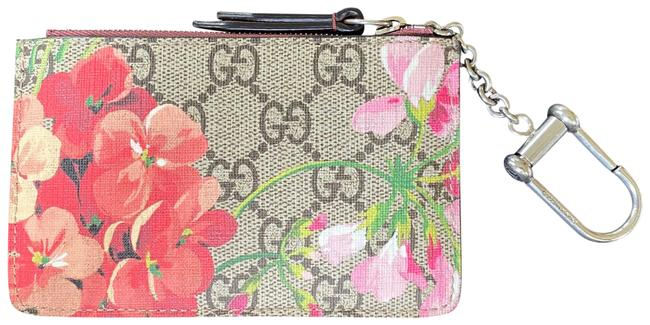 Item - Red Key Pouch Blooms Wallet