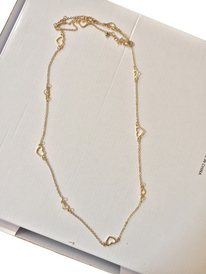Other Gold Hearts Necklace