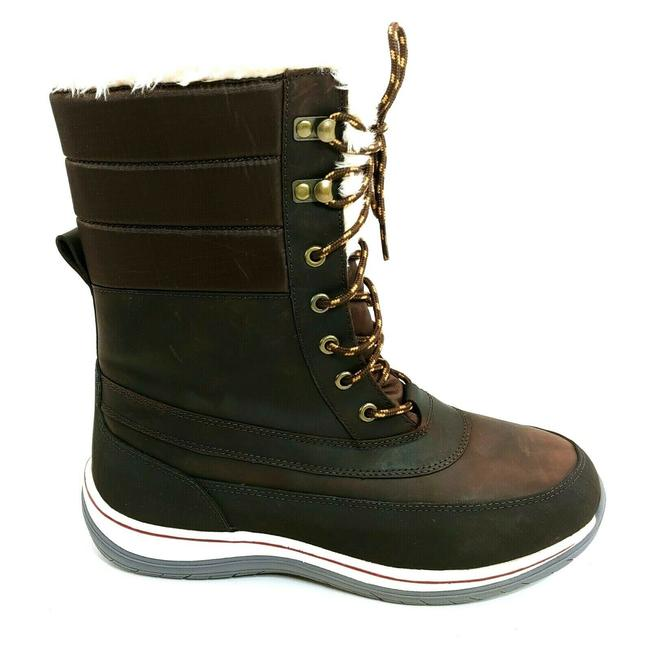 Item - Brown Womans Expedition Lace Up Front Mid Calf Boots/Booties Size US 11 Regular (M, B)