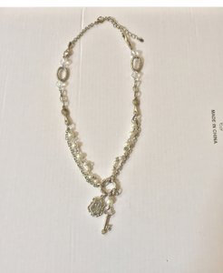 Other Silver Key Charm Necklace