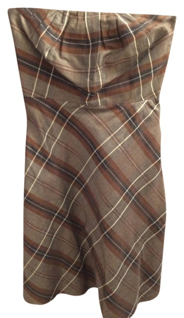Banana Republic short dress brown Strapless Work Afterwork on Tradesy