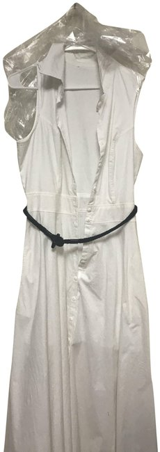 Item - White Undisclosed Long Casual Maxi Dress Size 14 (L)