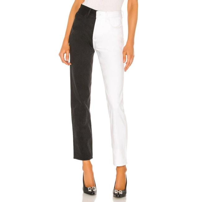 Item - Black Super High Rise Helena Difference Straight Leg Jeans Size 25 (2, XS)