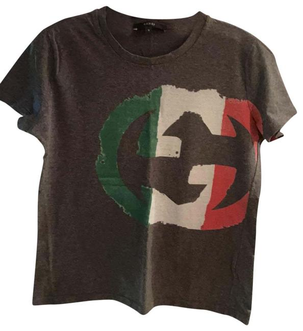 Item - Gray Green Red White 296654 X3798 Tee Shirt Size 6 (S)