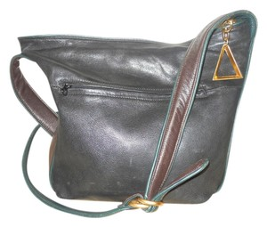 Sharif Leather Cross Body Bag