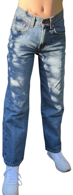 Item - Blue Medium Wash Levi 550 Relaxed Fit Jeans Size 2 (XS, 26)