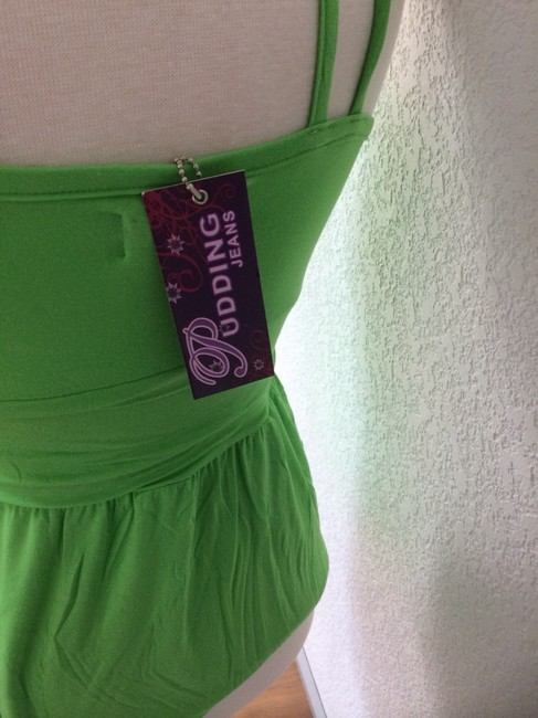 Pudding jeans Top Lime Green