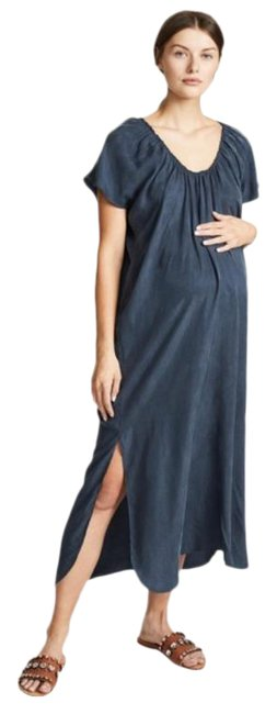 Item - Blue Arielle Midi In Ink Casual Maxi Dress Size 4 (S)