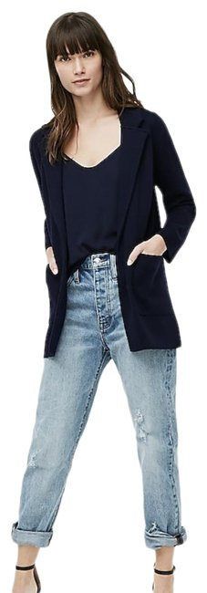 Item - Navy Open Front Sweater New with Tags Blazer Size 6 (S)