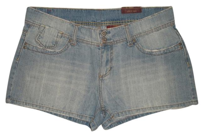 Bongo Classic 5 Pocket Style * Zipper Fly * Double Wasist Closure * Distressing And Whiskering * Style# 45540bop * Po#vpo- Mini/Short Shorts Blue