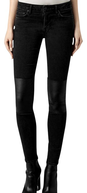 """Item - Black Mast Patch Washed """"Nwt"""" Skinny Jeans Size 27 (4, S)"""