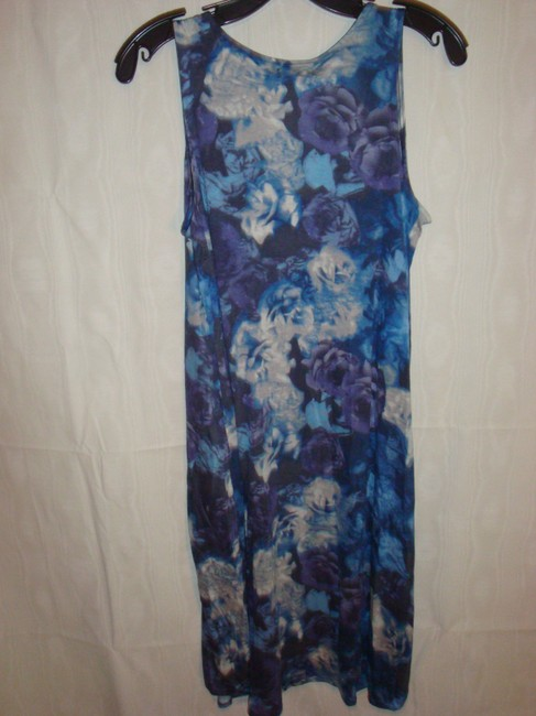 7 For All Mankind short dress Shades of Blue on Tradesy
