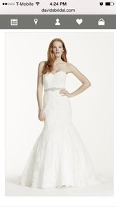 David's Bridal Brand New Gown