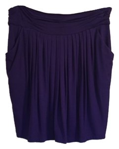 BCBGMAXAZRIA Purple Mini Jersey Knit Mini Skirt Purple, dregalblue