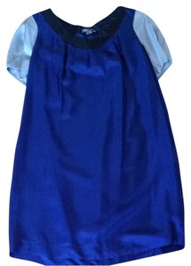Vince short dress Blue, Silver, And Black on Tradesy