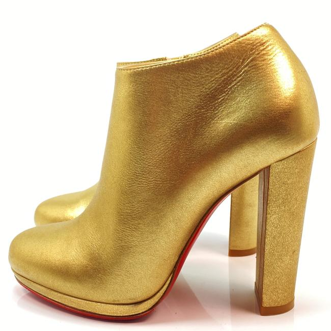 Item - Gold Rock and 120 Lame Mekong Ankle Boots/Booties Size EU 38 (Approx. US 8) Regular (M, B)