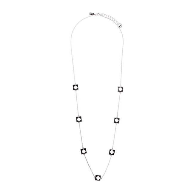 Item - • Silver Hole Punch Necklace