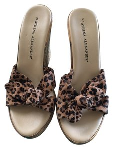 Athena Alexander Animal Print Sandals