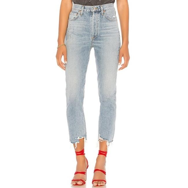 Item - Blue Riley High In Doubt Straight Leg Jeans Size 29 (6, M)