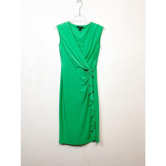 Item - Green Jersey By Mid-length Casual Maxi Dress Size 4 (S)