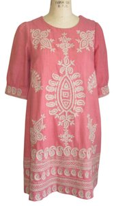 Isabel Marant short dress CORAL Embroidered Indian on Tradesy