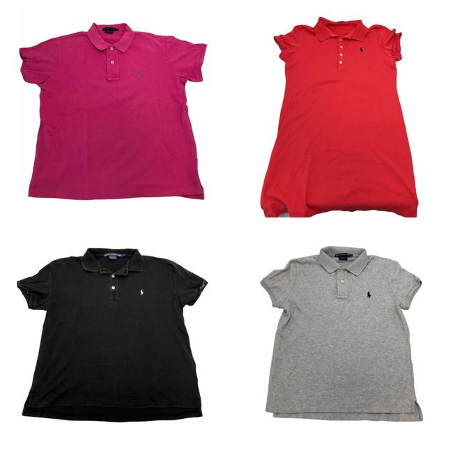 Item - Pink Polo Tee Shirt Size 12 (L)