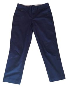 Banana Republic Capris Navy Blue