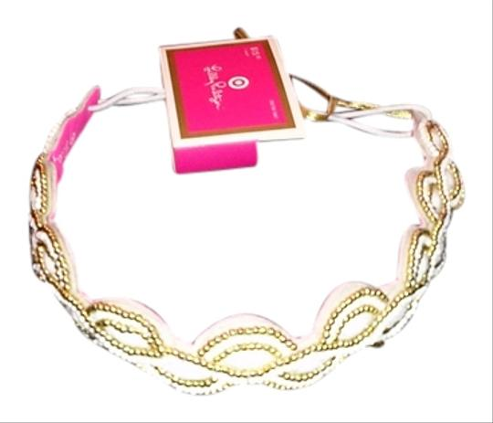 Preload https://img-static.tradesy.com/item/2960524/lilly-pulitzer-white-and-gold-for-target-limited-edition-headwrap-hair-accessory-0-0-540-540.jpg