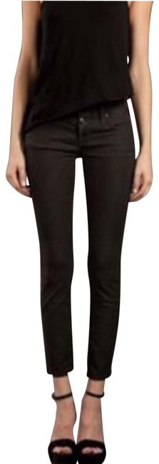 Item - Charcoal Dark Rinse Luce Crop Skinny Jeans Size 27 (4, S)