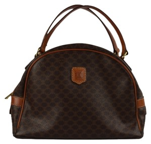Céline Satchel in Brown