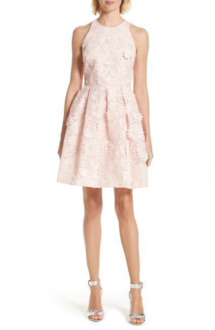 Item - Pink London Sweetee Lace Skater Short Cocktail Dress Size 10 (M)