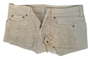 American Eagle Outfitters Tan Lace Shorts