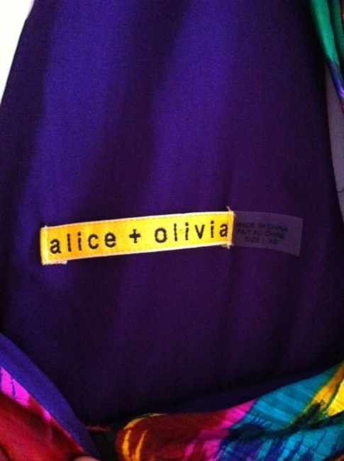 Alice + Olivia short dress Bright Multi on Tradesy