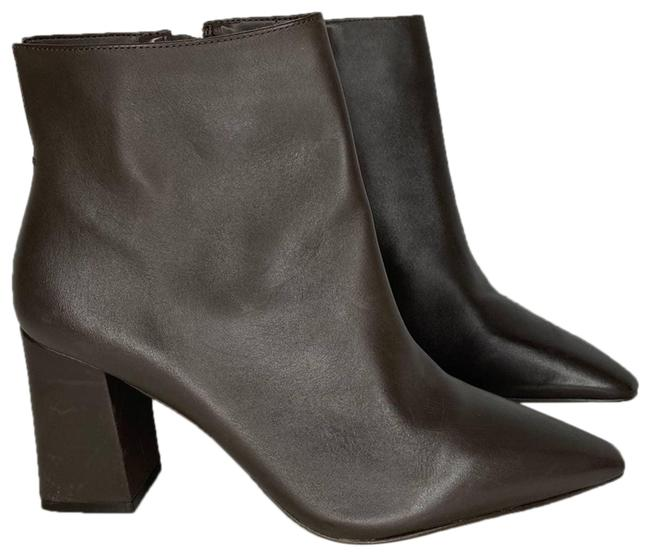 Item - Brown Cammen Leather Heeled Ankle Boots/Booties Size US 8 Regular (M, B)