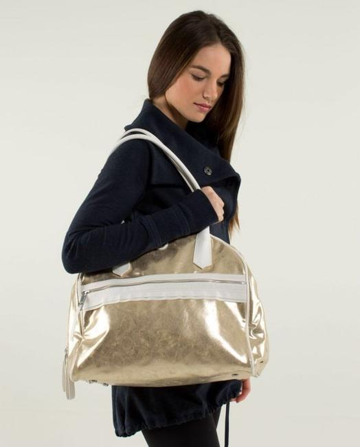 Item - Sweat Once A Day Gold Tote
