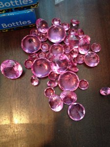 Fuschia Diamonds Assorted Sizes