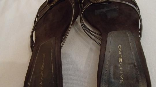 Bandolino Leather Leather Brown Sandals