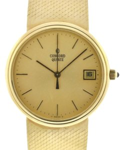 Concord Vintage 1951 Concord watch, 14k gold