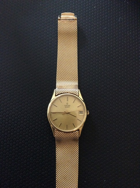Concord Gold Vintage 1951 14k Watch Concord Gold Vintage 1951 14k Watch Image 3