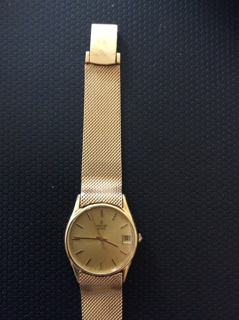 Concord Gold Vintage 1951 14k Watch Concord Gold Vintage 1951 14k Watch Image 5