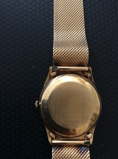 Concord Gold Vintage 1951 14k Watch Concord Gold Vintage 1951 14k Watch Image 6