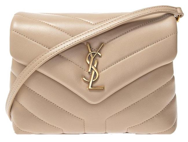 Item - Monogram Loulou Shoulder Mini Toy Quilted Beige Leather Cross Body Bag