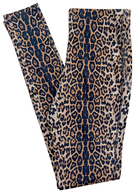 Item - Brown XS Lord & Taylor Leopard Leggings Size 2 (XS, 26)