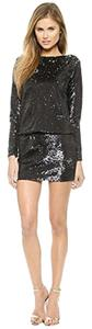 Rachel Zoe Party Sparkle Sequin Designer Mini Dress