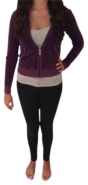 Preload https://item5.tradesy.com/images/juicy-couture-purple-velour-tracksuits-sweatshirthoodie-size-4-s-2961814-0-0.jpg?width=400&height=650